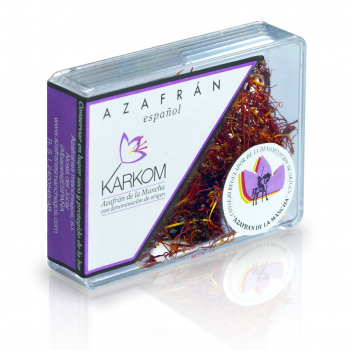 Spanish saffron with D.O.P. karkom box