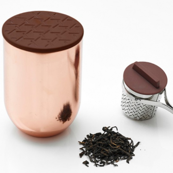 Copper Tea Jar By TOAST