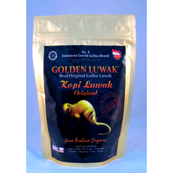Luwak coffee roasted