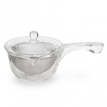 Yama Glass Side Pour Teapot