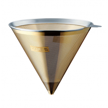 Gold coffee filter
