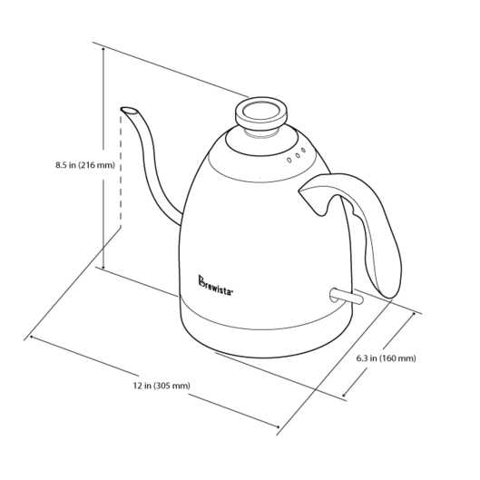Smart Pour Over Coffee 1 2l Electric Switch Kettle